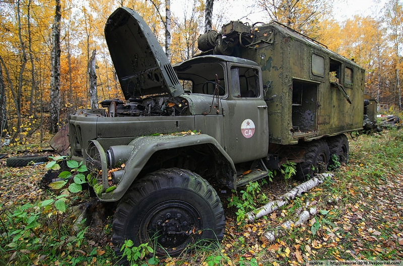 Cool Old Cars Wallpapers Abandoned Soviet Vehicle Base Hidden Deep In The Woods Pt