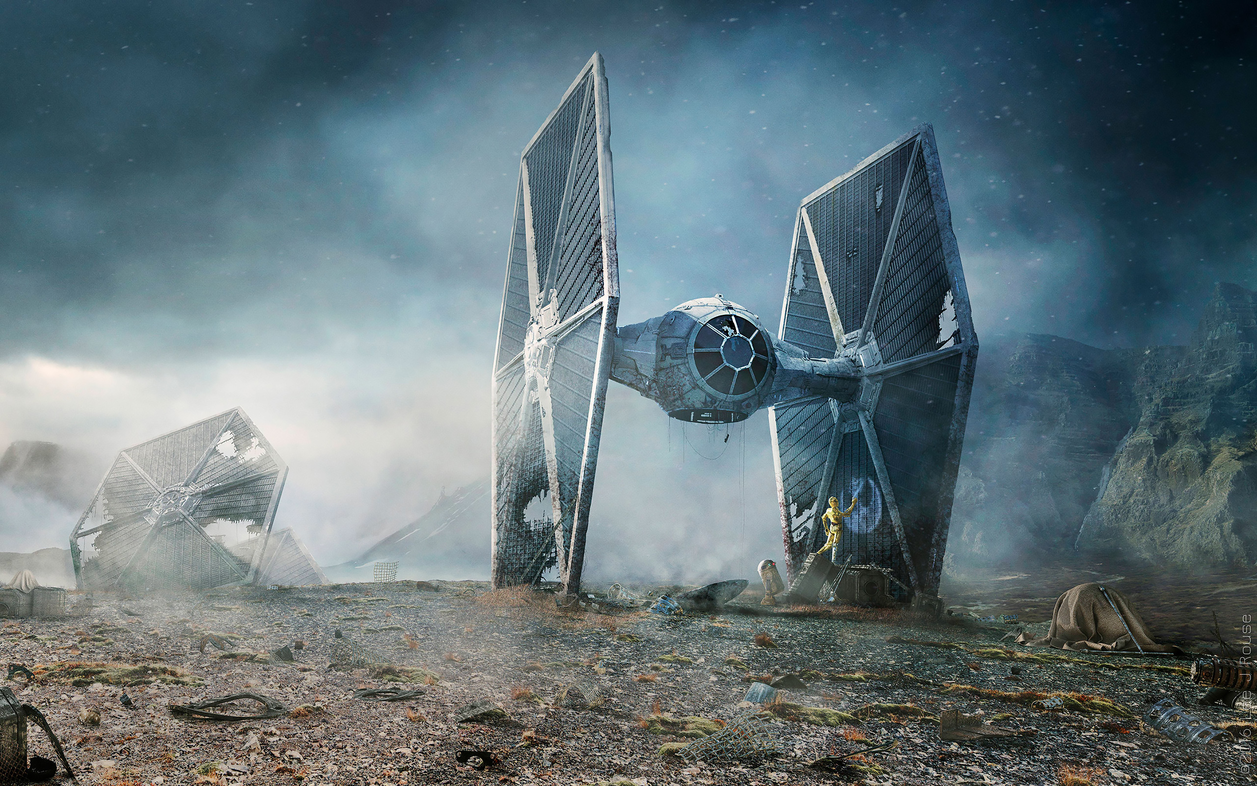 Us Military Wallpaper Quotes Daily Wallpaper Star Wars Tie Fighter Crash Landing I