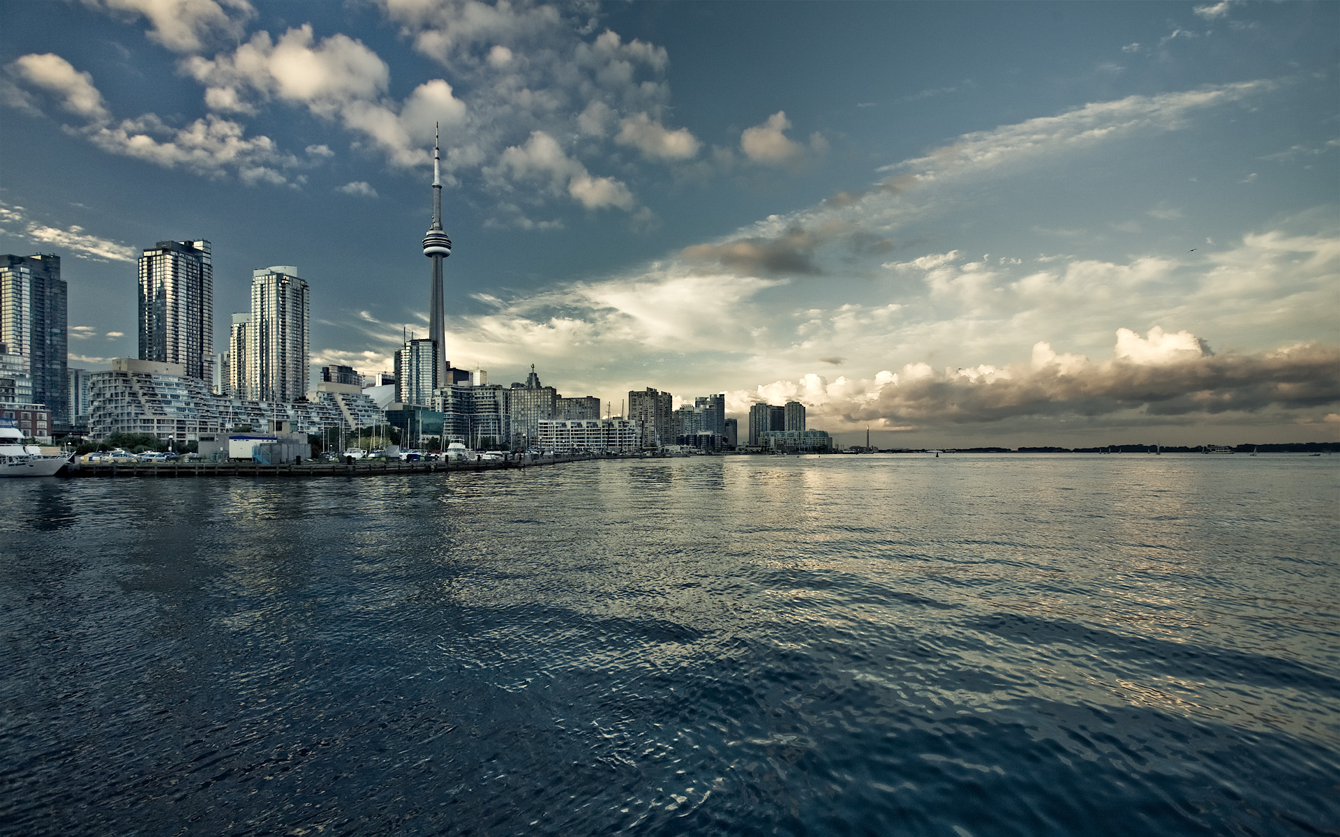 The Cars 2 Wallpaper Daily Wallpaper Toronto Skyline I Like To Waste My Time