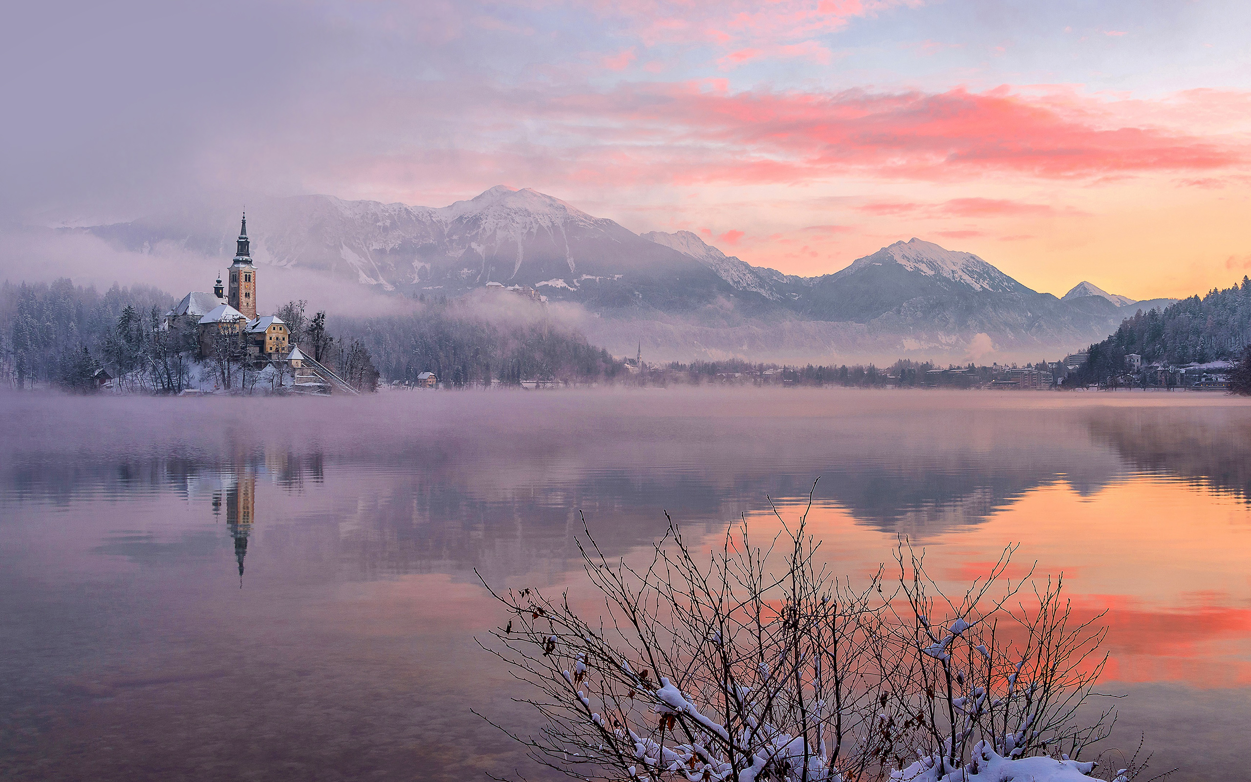 Luxury Cars Hd Wallpapers Download Daily Wallpaper Winter Morning In Bled Slovenia I Like