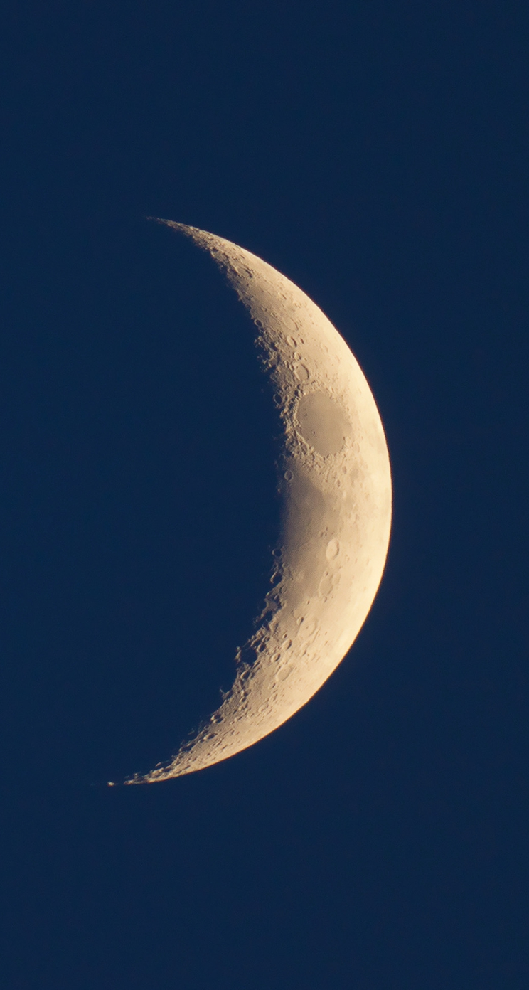 487 4 simple crescent moon pattern space view iphone 5s wallpaper