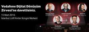 Vodafone Dijital Dönüşüm Zirvesi
