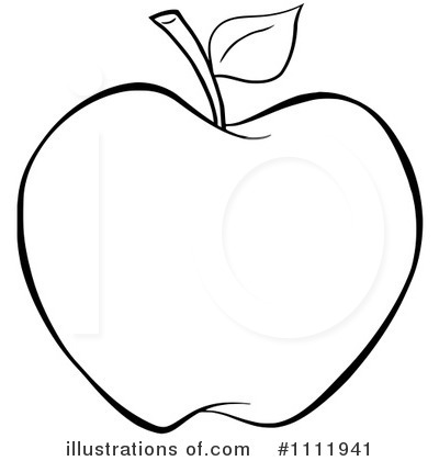Apple Clipart #1111941 - Illustration by Hit Toon