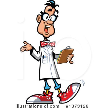Scientist Clipart #1373128 - Illustration by Clip Art Mascots