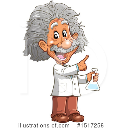 Scientist Clipart #1154457 - Illustration by LaffToon