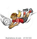 Girls Volleyball Clip Art Free