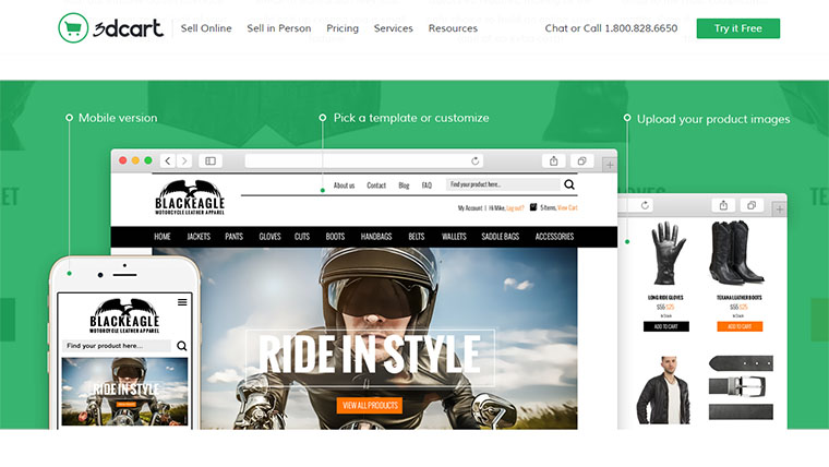 Top 6 Responsive 3dcart Templates for eCommerce Websites
