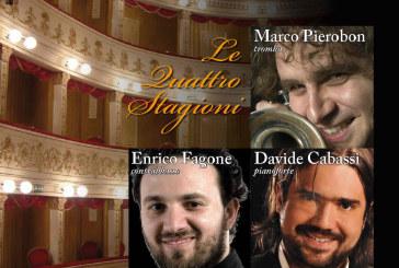 Pierobon, Fagone e Cabassi al Teatro Rossetti
