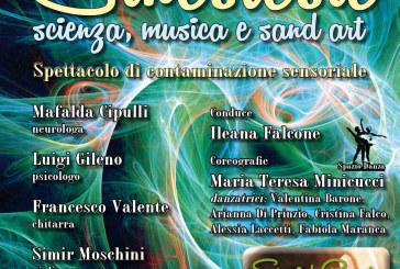 """""""Sinestesie"""", conferenza-spettacolo ai Giardini di Palazzo d'Avalos"""