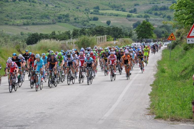 Giro d'Italia nel Vastese