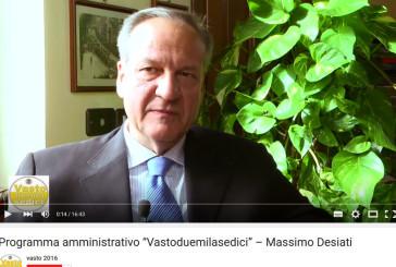 Massimo Desiati e Vastoduemilasedici lanciano il proprio programma elettorale