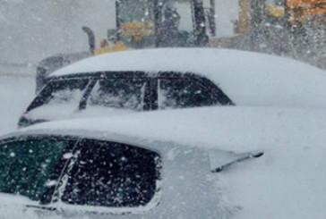Allerta meteo, mareggiate e neve a bassa quota