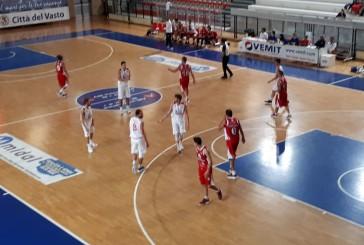 La Vasto Basket vince e vola