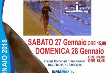 Il XIV Trofeo Tano Croce, l'evento di nuoto più importante dell'anno