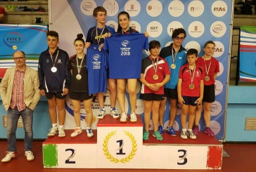 Margherita Cerritelli, argento nel doppio misto ai Campionati Italiani di tennistavolo