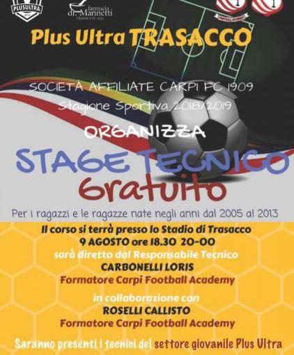 stage tecnico Trasacco