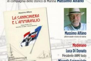 """Domani la presentazione del libro """"La Cannoniera e l'Ammiraglio"""" di Massimo Alfano"""
