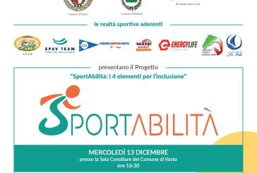 """""""SportAbilità: i 4 elementi per l'inclusione"""", mercoledì la presentazione del progetto"""