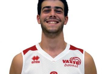Tegola per la Vasto Basket, stagione finita per Andrea Marino