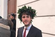 Laurea magistrale per Costantino Antenucci