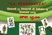 """""""La Perdonanza"""", il 1° torneo di briscola e tressette"""