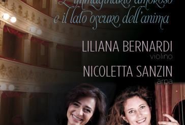 Il violino e l'arpa di Bernardi e Sanzin al Teatro Rossetti