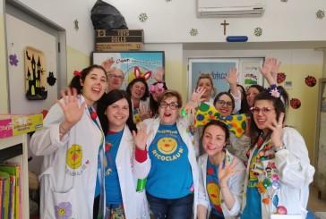 Carnevale davvero divertente in Ospedale con la Ricoclaun
