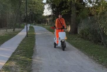 Pulchra al lavoro per le pulizie primaverili in città
