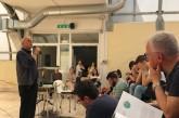 I giovani e la felicità, Don Gigi Giovannoni incontra gli studenti del Palizzi