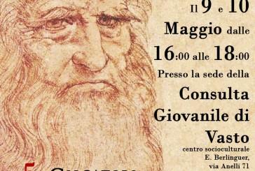 La Consulta Giovanile di Vasto organizza un Escape Room dedicato a Leonardo da Vinci