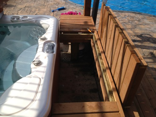 Stylish Hot Tub Removable Deck Panels Hot Tub Removable Deck Panels Hot Tub Deck Fail Hot Tub Deck Support Framing