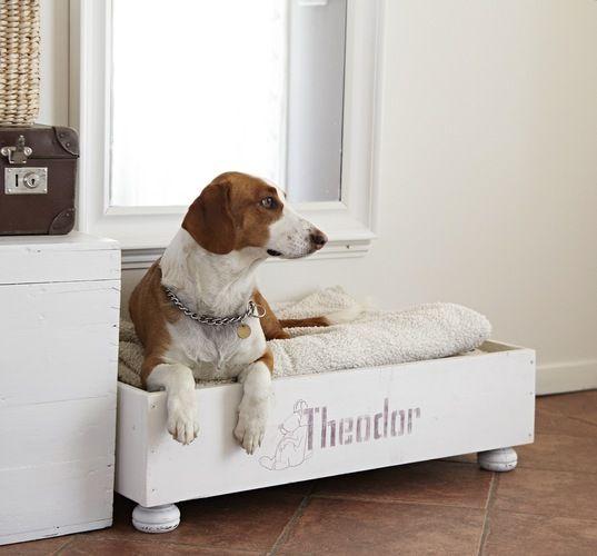 ideas creativas de camas para perros hechas con palets i
