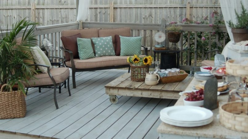 10 terrazas con encanto con muebles de palets \u2013 I Love Palets - Terrazas Con Palets