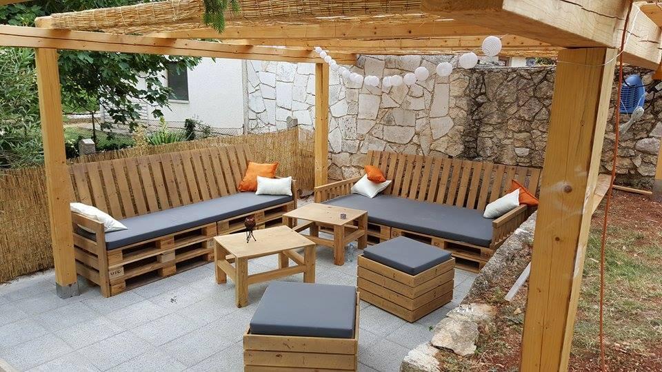 Estilos de muebles de terraza hechos con palets ¿Con cuál te quedas - Terrazas Con Palets