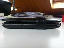 Test housse en cuir de protection Norêve pour Samsung Galaxy Note 2 10