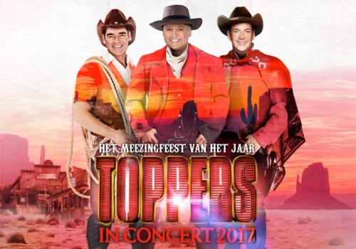 TOPPERS IN CONCERT 2017 'WILD WEST, THUIS BEST'