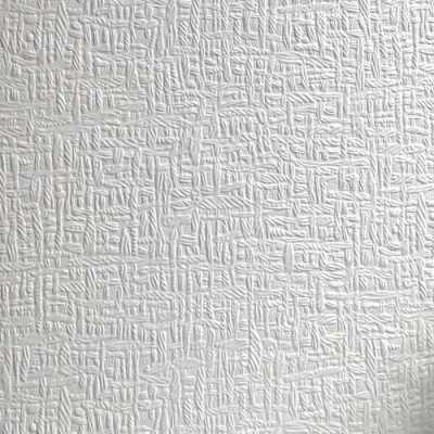 Erfurt Kensington Basket Paintable Embossed Wallpaper White (171) - Wallpaper from I Love ...