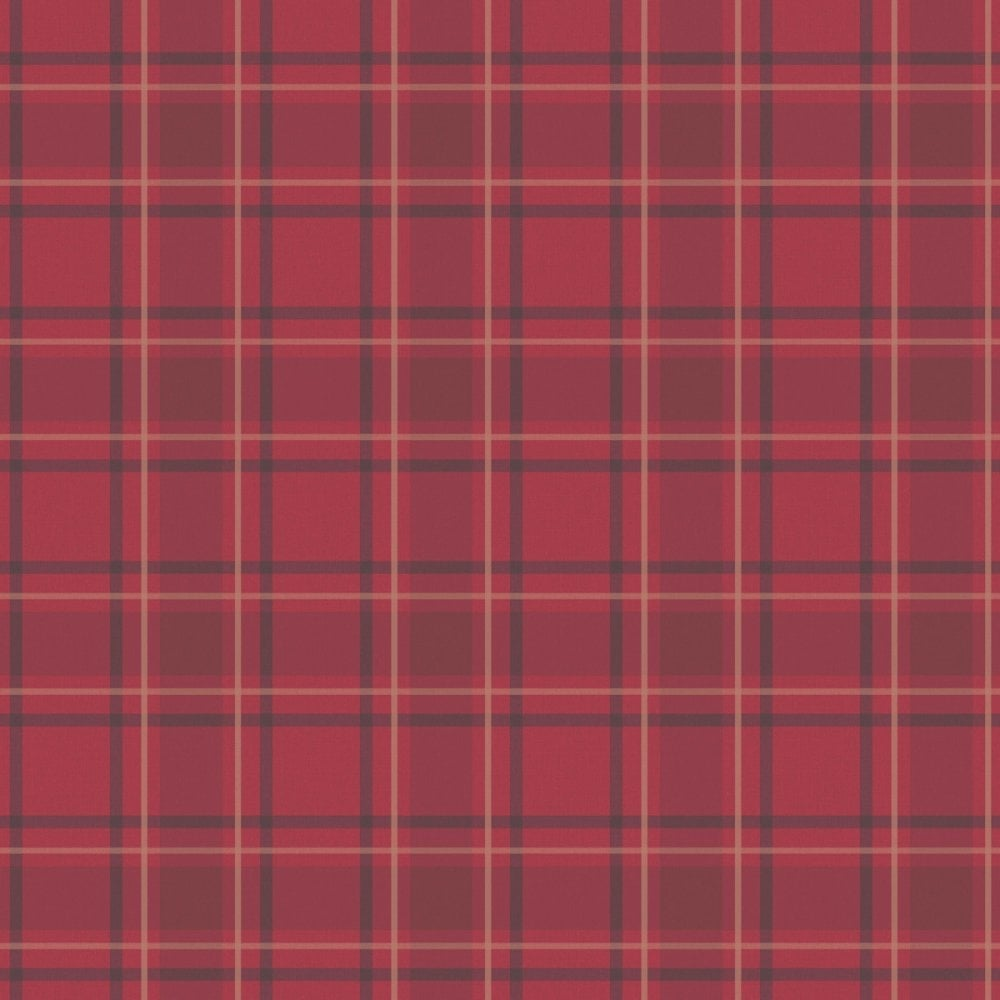 Black And Gold Textured Wallpaper I Love Wallpaper Tartan Wallpaper Traditional Red