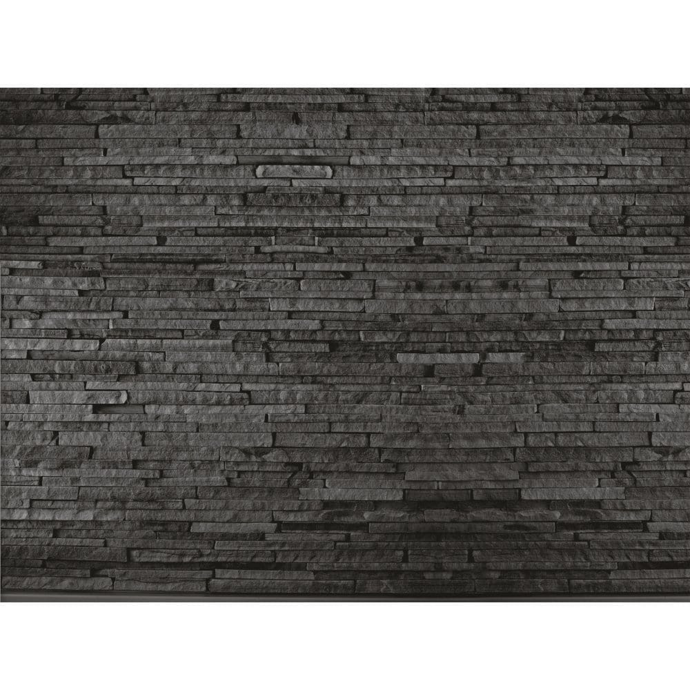 Black And Cream Damask Wallpaper 1 Wall Slate Brick Effect Wall Mural Wall Murals From I