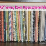 5 Easy Sewing Room Organization Ideas