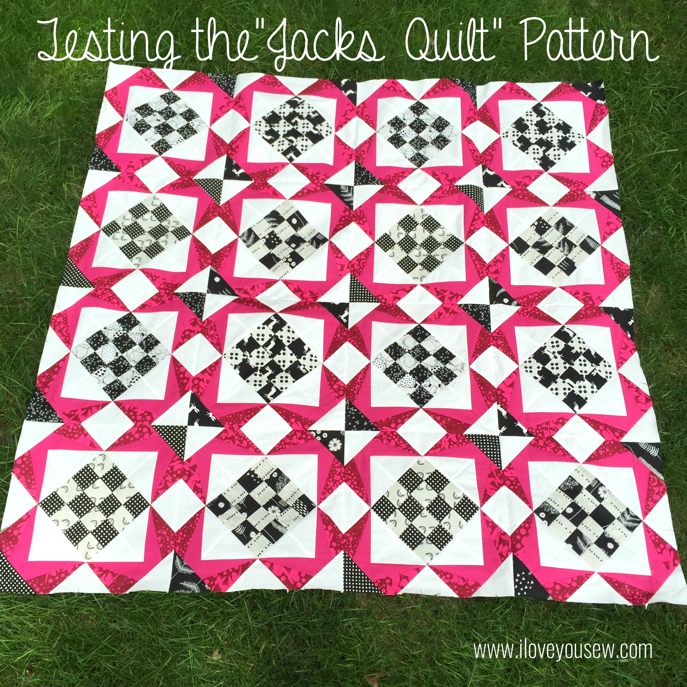 "Testing the ""Jacks Quilt"" Pattern"