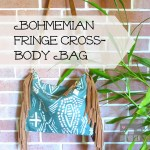 Bohemian Fringe Cross-Body Bag