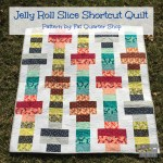 Jelly Roll Slice Shortcut Quilt