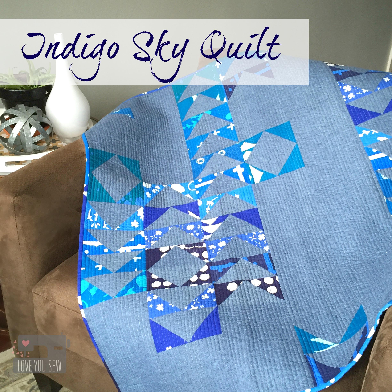 Indigo Sky Quilt
