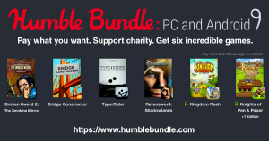 Humble Bundle 9 Pc e Android è disponibile con Broken Sword 2