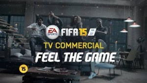 Fifa 15, spot pubblicitario
