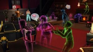 The Sims 4, arrivano i fantasmi, i costumi di Guerre Stellari e le piscine; nuove immagini e video