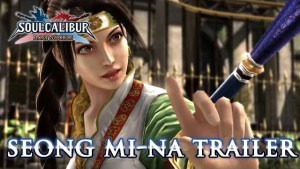 Soul Calibur: Lost Swords, un trailer per Seong Mi-na