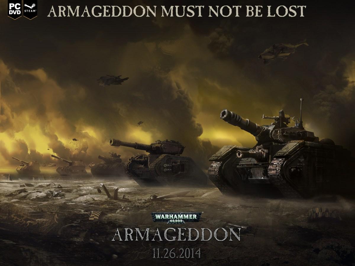 Warhammer 40.000: Armageddon è su Steam
