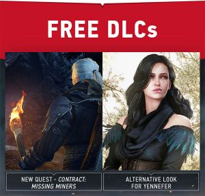 The Witcher 3: Wild Hunt, disponibili i primi due dlc gratuiti